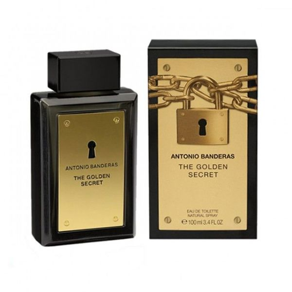 A.Banderas The Golden Secret (M) 100ml edt